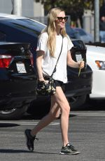 AMANDA SEYFRIED Shopping at West Elm Furniture in Los Angeles 03/06/2018