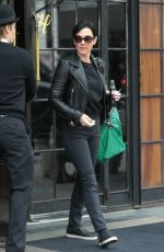AMANDA SHIRES Leaves Bowery Hotel in New York 03/27/2018