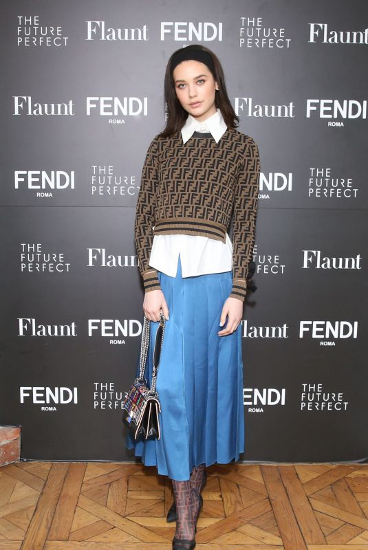 AMANDA STEELE at Fendi x Flaunt Celebrate New Fantasy Issue in Los Angeles 03/21/2018