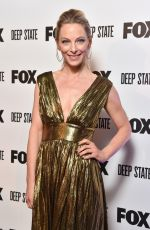 AMASTASIA GRIFFITH at Deep State Premiere in London 03/15/2018