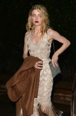AMBER HEARD at WME Talent Agency Party in Los Angeles 03/02/2018