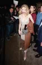 AMBER HEARD Off-white Fashion Show in Paris 03/01/2018