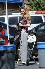 AMBER HEARD Out and About in Los Angeles 03/26/2018