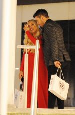AMBER TURNER and Scott Thomas Night Out in London 03/22/2018