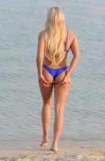 AMBER TURNER in Bikini at a Beach in Miami 03/08/2018