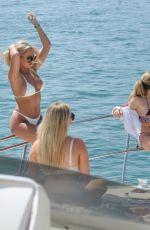 AMBER TURNER in Bikini at a Yacht in Dubai 03/16/2018