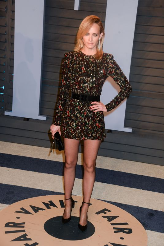 AMBER VALLETTA at 2018 Vanity Fair Oscar Party in Beverly Hills 03/04/2018