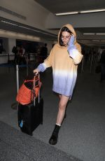 AMELIA GRAY HAMLIN at LAX Airport in Los Angeles 03/30/2018