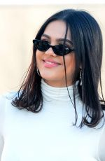 AMELIA HAMLIN at Hudson Jeans Billboard Launch in West Hollywood 03/06/2018