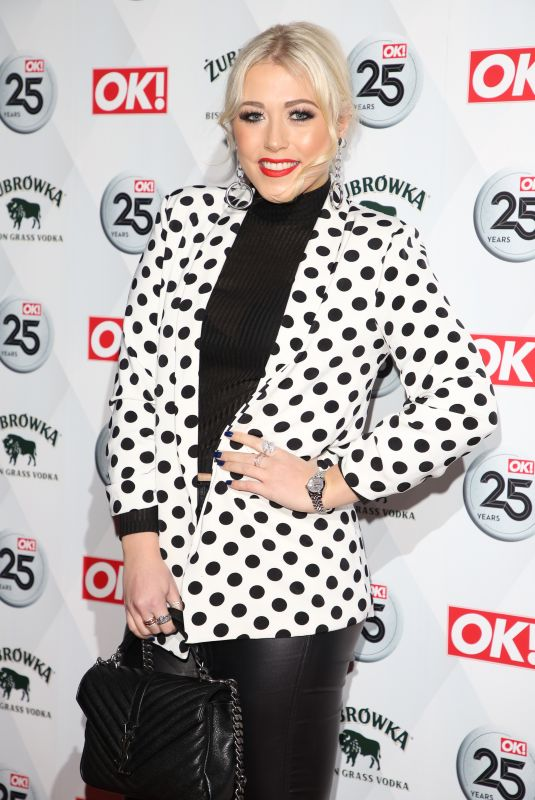 AMELIA LILY at OK! Magazine's 25th Anniversary in London 03/21/2018