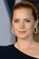 AMY ADAMS at 2018 Vanity Fair Oscar Party in Beverly Hills 03/04/2018