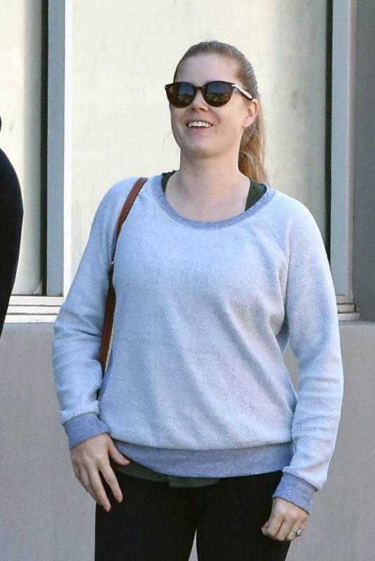 AMY ADAMS Out and About in Los Angeles 03/19/2018