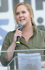 AMY SCHUMER at March for Our Lives Rally in Los Angeles 03/24/2018