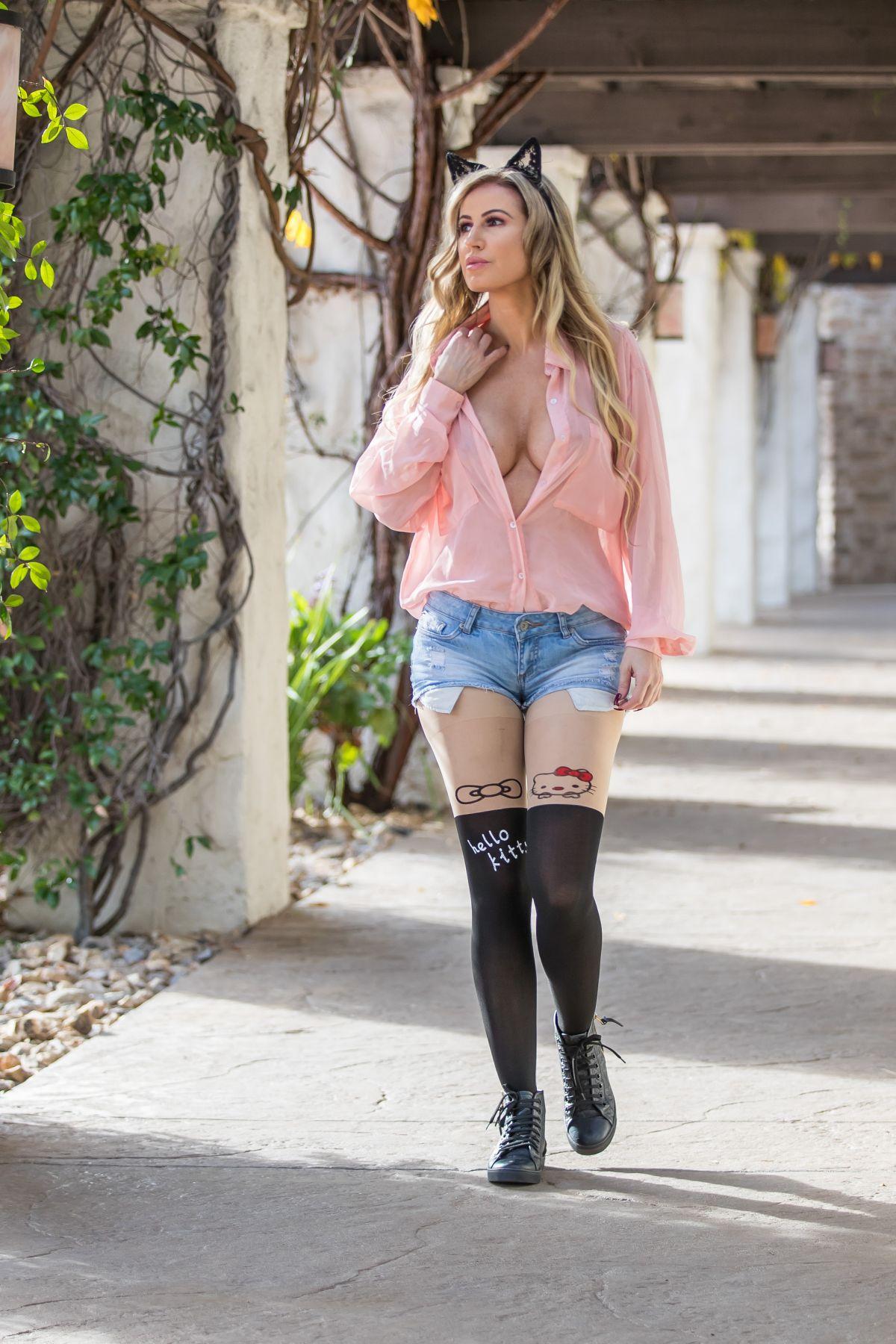 Ana Braga Denim Shorts Los Angeles