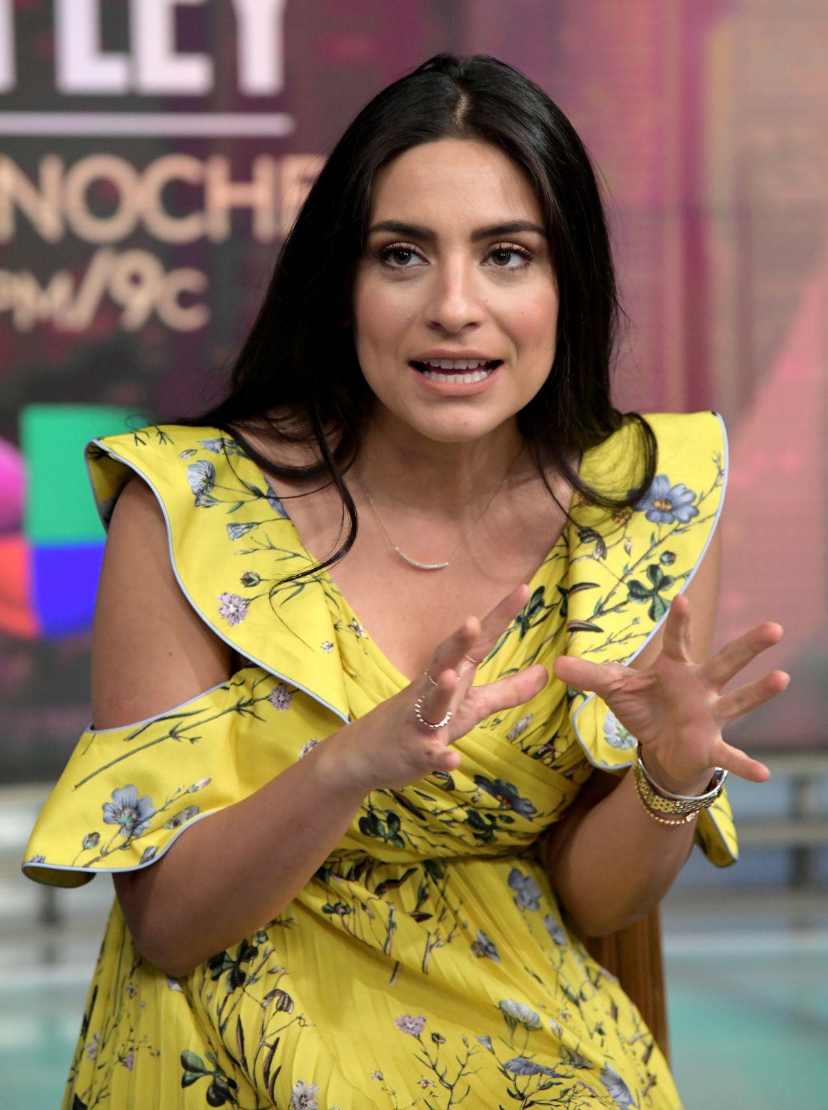 ANA BRENDA CONTRERAS at Despierta America Show in Miami 03/05/2018 - HawtCelebs