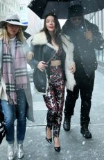 ANAY TAYLOR-JOY Arrives at Build Series in New York 03/07/2018