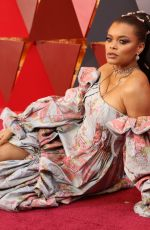 ANDRA DAY at 90th Annual Academy Awards in Hollywood 03/04/2018