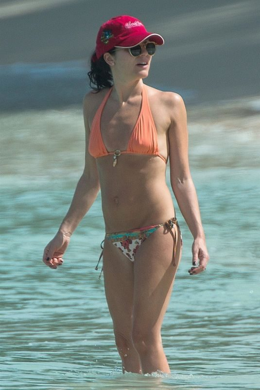 ANDREA CORR in Bikini at a Beach in Barbados 03/28/2018