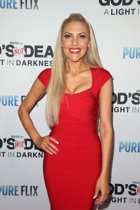 ANDREA LOGAN WHITE at God's Not Dead: A Light in Darkness Premiere in Los Angeles 03/20/2018