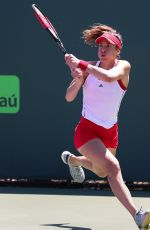 ANDREA PETKOVIC at 2018 Miami Open in Key Biscayne 03/23/2018