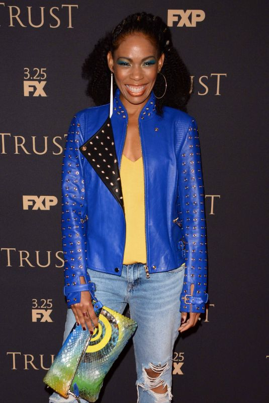 ANGELA LEWIS at FX All-star Party in New York 03/15/2018