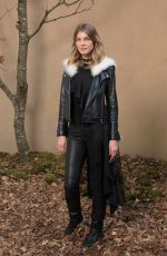 ANGELA LINDVALL at Chanel Forest Runway Show in Paris 03/06/2018