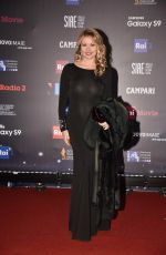 ANGELA MELILLO at David Di Donatello Award Ceremony in Rome 03/20/2018