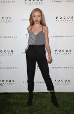 ANNALISA COCHRANE at Thoroughbreds Special Screening in Los Angeles 02/28/2018