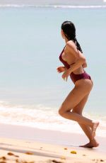 ANNE DE PAULA in Swimsuit at a Beach in Caribbean 03/25/2018