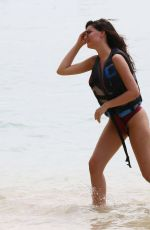 ANNE DE PAULA in Swimsuit at a Beach in Caribbean 03/25/2018