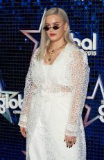ANNE MARIE at Global Awards 2018 in London 03/01/2018