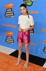 ANNIE LEBLANC at 2018 Kids' Choice Awards in Inglewood 03/24/2018