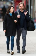 ANNIE PARISSE and Paul Sparks Out in New York 03/28/2018