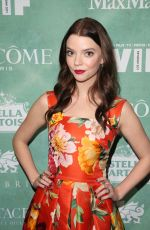 ANYA TAYLOR-JOY at Women in Film Pre-oscar Cocktail Party in Los Angeles 03/02/2018