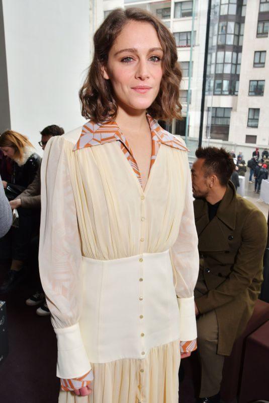 ARIANE LABED at Chloe Show at Paris Fashion Week 03/01/2018