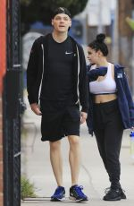 ARIEL WINTER and Levi Meaden Leaves a Gym in Los Angeles 03/20/2018