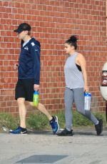 ARIEL WINTER Arrives at a Gym in Los Angeles 03/30/2018