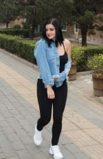 ARIEL WINTER Out and About in Beijing, March 2018