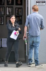 ARIEL WINTER Out in Los Angeles 03/16/2018