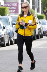 ASHLEE SIMPSON Leaves a Gym in Studio City 03/08/2018