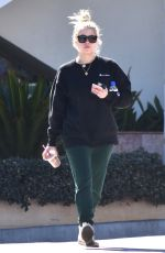 ASHLEY BENSON Out for Iced Coffee in Los Angeles 03/05/2018