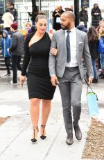 ASHLEY GRAHAM and Justin Ervin Out in New York 03/08/2018