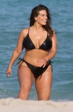 ASHLEY GRAHAM in Bikini and Swimsuit on the Set of a Photoshoot in Miami 03/14/2018