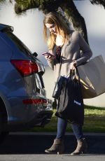 ASHLEY GREENE Arrives to Her Car in Los Angeles 03/01/2018