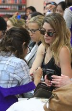 ASHLEY GREENE at Beverly Hills Nails and Spa 03/16/2018