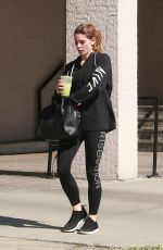 ASHLEY GREENE Heading to a Gym in Los Angeles 03/23/2018