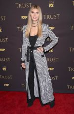 ASHLEY HAAS at Tust Show Screening in New York 03/14/2018