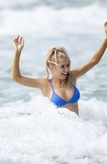 ASHLEY IRVIN in Bikini at a Beach in Gold Coast 03/22/2018