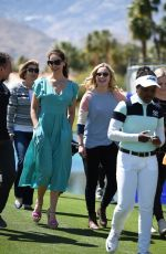 ASHLEY JUDD at ANA Inspiration Golf Tournament in Los Angeles 03/28/2018