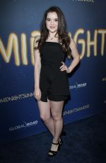 AUBREY MILLER at Midnight Sun Premiere in Hollywood 03/15/2018